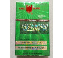 DẦU XANH CON Ó EAGLE BRAND MEDICATED OIL 24ML